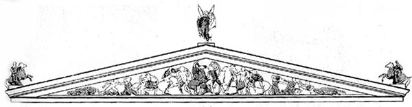 Image Map of pediment