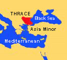 Map of the Mediterranean and Black Sea