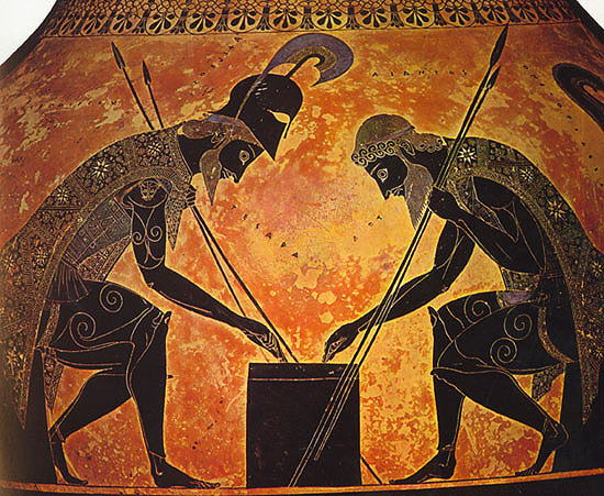 a comparison of achiles and hector in homers the illiad The iliad by homer, translated from the greek by peter green  'king priam  begging achilles for the body of hector' drawing by henry fuseli  but green's  adjustment here is nothing compared to what lattimore and powell.