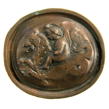 Cameo. Eros on sea panther