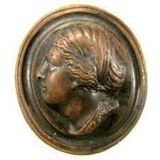 Cameo. Woman's head
