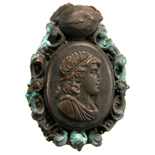 Cameo. Youth bust