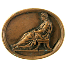 Cameo. Seated Agrippina