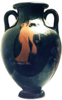 Athenian red-figure vase view 1