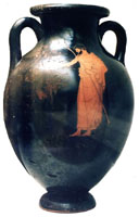 Athenian red-figure vase view 2