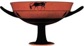 Athenian black-figure cup