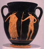Small storage pot - neck-amphora