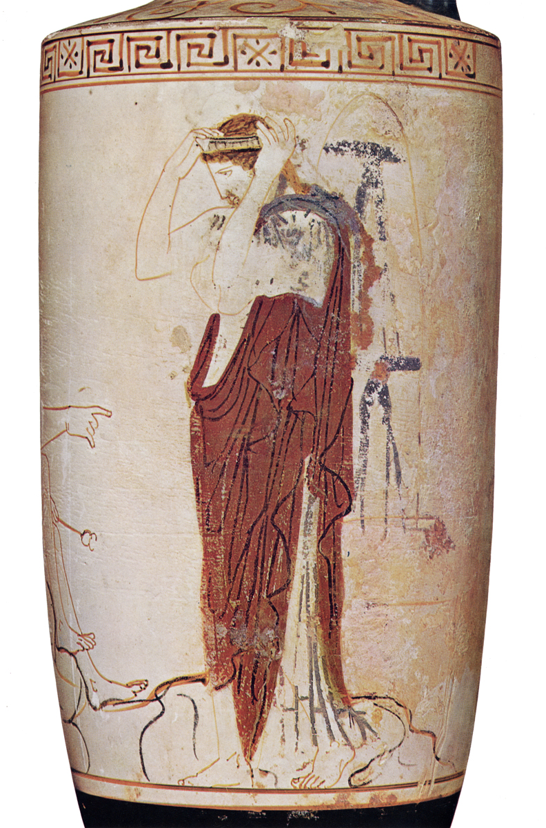 Greek vases 800 300 bc key pieces the classical art research centre phiale painter hermes white lekythos floridaeventfo Image collections
