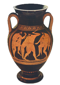 Euthymides's 'as never Euphronios' amphora