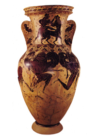 Nessos Painter's name vase