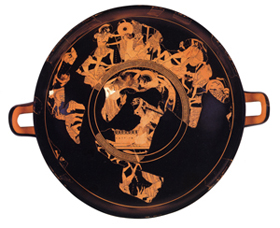 Onesimos 'Sack of Troy' cup