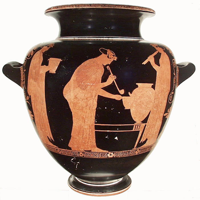Greek Vases 800 300 Bc Key Pieces The Classical Art Research Centre