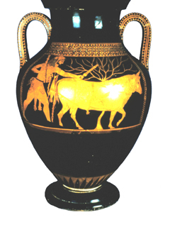 Andokides Painter bilingual amphora