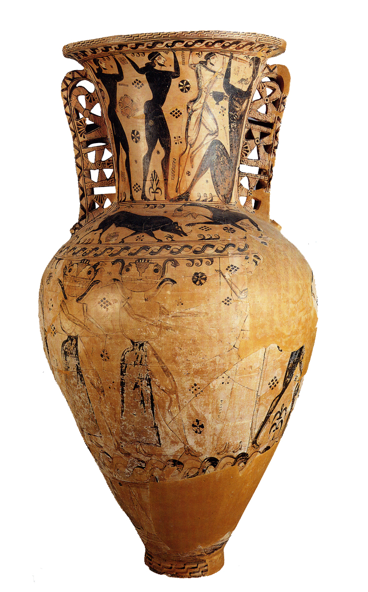 Greek vases 800 300 bc key pieces the classical art research centre eleusis neck amphora reviewsmspy