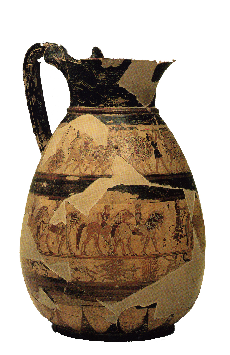 Greek vases 800 300 bc key pieces the classical art research centre chigi olpe reviewsmspy
