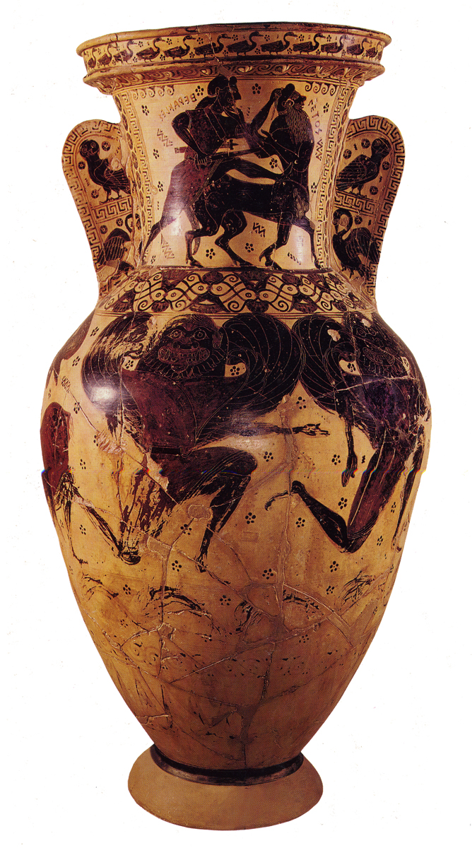 Greek vases 800 300 bc key pieces the classical art research centre nessos painters name vase reviewsmspy