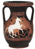 Athenian red-figure pelike