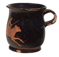 Athenian red-figure oinochoe