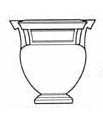 Drawing of column-krater