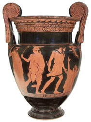 Athenian red-figure volute-krater