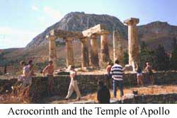 Photo of Acrocorinth & Temple