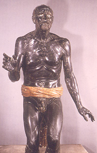 Photo of statue of Dying Senca