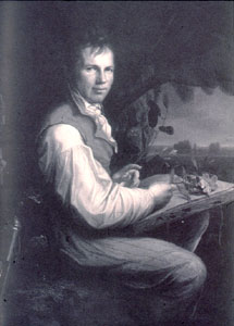 Photo of painting of von Humboldt