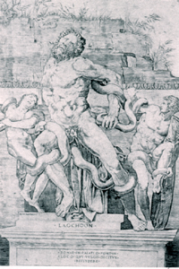 Engraving of Laocoon Group