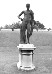 Photo of statue Antinous