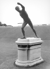 Photo of statue 'Gladiator'