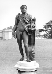 Photo of statue Commodus as Hercules
