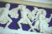 Blue Frieze photo