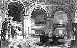 Radcliffe interior etching