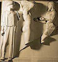 Cast of Olympia metope