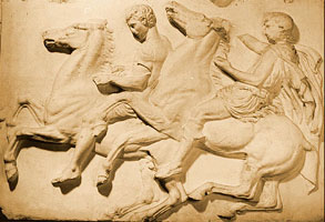 Photo of Cast of Parthenon frieze
