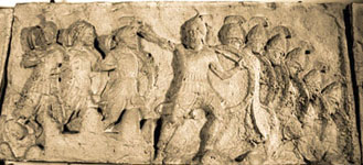 Photo of Cast of Trysa frieze slab