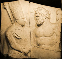 Photo of Cast of relief of Antiochos