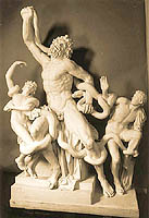 Cast of statue group - Laocoon