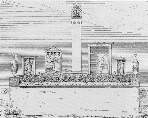 Drawing reconstruction of graves