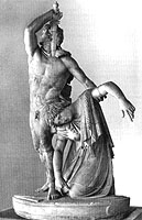 Statue of Gaul killing himself