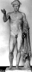 Photo of Hermes Ludovisi statue