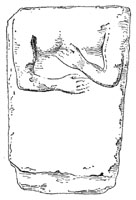 Drawing of Gravestone From Kimolos