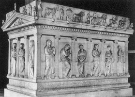 Mourners Sarcophagus