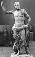 Photo of statue of Poseidon
