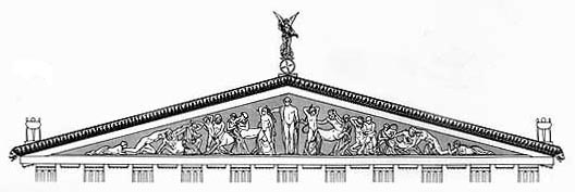 Pediment drawing
