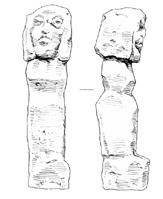 Drawing of limestone shapes