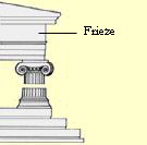 Doric frieze drawing